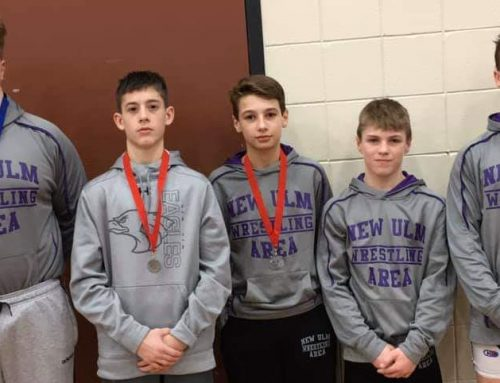 New Ulm Eagles Wrestlers to 9th Grade State