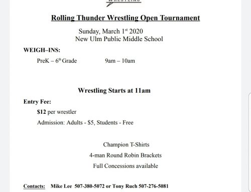 ROLLING THUNDER OPEN TOURNMENT