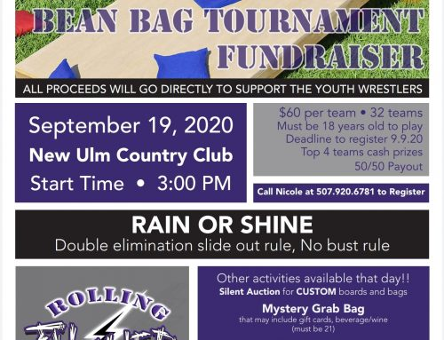 2020 Bean Bag Tournament Fundraiser